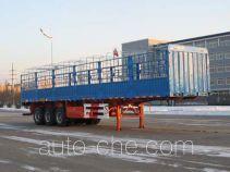 中集牌ZJV9401CCYYK02型仓栅式运输半挂车