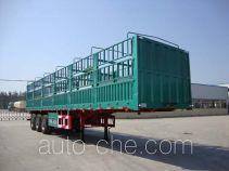 中集牌ZJV9401CLXDY型仓栅式运输半挂车