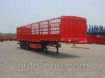 中集牌ZJV9401CLXQD型仓栅式运输半挂车