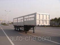 中集牌ZJV9401CLXTH型仓栅式运输半挂车