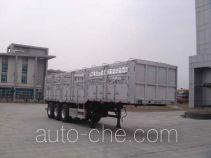 中集牌ZJV9401CLXTHA型仓栅式运输半挂车