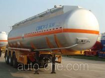 CIMC ZJV9401GFWSZ corrosive materials transport tank trailer