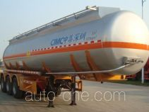 CIMC ZJV9401GYWSZ oxidizing materials transport tank trailer