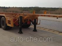 CIMC ZJV9401TWYSZ dangerous goods tank container skeletal trailer