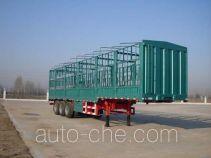 中集牌ZJV9402CLXDY型仓栅式运输半挂车