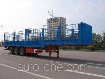 中集牌ZJV9402CLXYK型仓栅式运输半挂车
