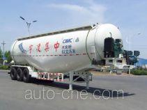 中集牌ZJV9402GFLLY型粉粒物料运输半挂车