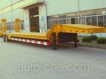 中集牌ZJV9402TDPQD型低平板半挂车