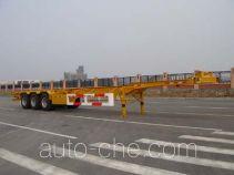 中集牌ZJV9402TJZ型集装箱半挂牵引车