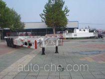 中集牌ZJV9402TJZDYA型集装箱运输半挂车