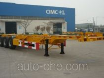 CIMC ZJV9370TJZQD container transport trailer