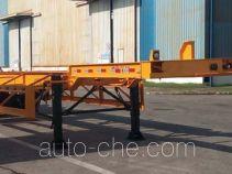 中集牌ZJV9402TJZSZB型集装箱运输半挂车