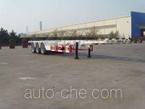 CIMC ZJV9402TWYQD dangerous goods tank container skeletal trailer