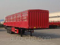 中集牌ZJV9403CLX型仓栅式运输半挂车