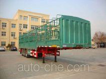 中集牌ZJV9403CLXDY型仓栅式运输半挂车