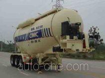 CIMC ZJV9403GFLRJA medium density bulk powder transport trailer