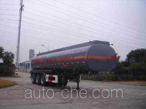 CIMC ZJV9403GHYTHH chemical liquid tank trailer
