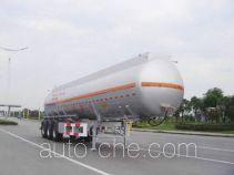 CIMC ZJV9403GRYTHB flammable liquid tank trailer