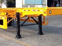 中集牌ZJV9403TWYSZ型危险品罐箱骨架运输半挂车