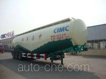 中集牌ZJV9404GFLDY型低密度粉粒物料运输半挂车