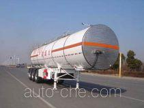 CIMC ZJV9405GRYTHA flammable liquid tank trailer
