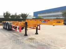 CIMC ZJV9405TWYQD dangerous goods tank container skeletal trailer