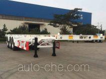 CIMC ZJV9406TWYQD dangerous goods tank container skeletal trailer