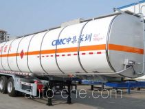 CIMC ZJV9407GRYSZ flammable liquid tank trailer