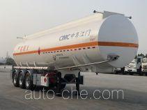 中集牌ZJV9407GYYJM型铝合金运油半挂车