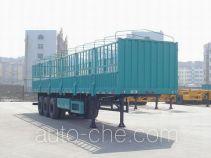 中集牌ZJV9408CLX型仓栅式运输半挂车