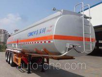 CIMC ZJV9408GRYSZ flammable liquid tank trailer