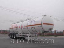 CIMC ZJV9409GHYTHA chemical liquid tank trailer