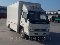 Juwang ZJW5040XWT mobile stage van truck