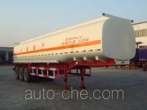 驹王牌ZJW9401GHY型化工液体运输半挂车