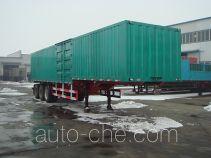 Juwang ZJW9401XXY box body van trailer