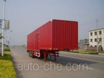 Juwang ZJW9404XXY box body van trailer