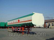 驹王牌ZJW9402GHY型化工液体运输半挂车