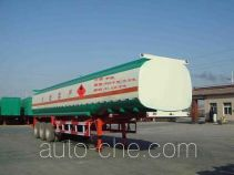 Juwang ZJW9401GHY chemical liquid tank trailer