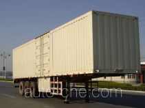 Juwang ZJW9402XXY box body van trailer