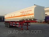 Juwang ZJW9403GHY chemical liquid tank trailer