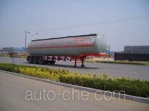 Juwang ZJW9404GHY chemical liquid tank trailer