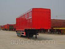 驹王牌ZJW9405CLX型仓栅式运输半挂车