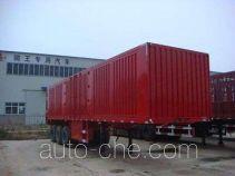Juwang ZJW9408XXY box body van trailer