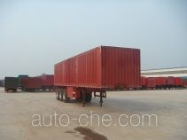 Juwang ZJW9409XXY box body van trailer