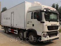 Luzhu Anju ZJX5317XLCD refrigerated truck