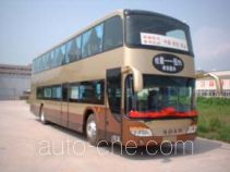 Shenye ZJZ6121DP luxury double-decker bus