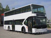 Yutong ZK6116CHEVGS1 hybrid double decker city bus