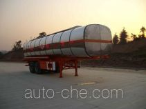 Qulong ZL9290GHY chemical liquid tank trailer