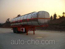 中商汽车牌ZL9290GHY型化工液体运输半挂车