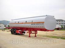 Qulong ZL9350GHY chemical liquid tank trailer